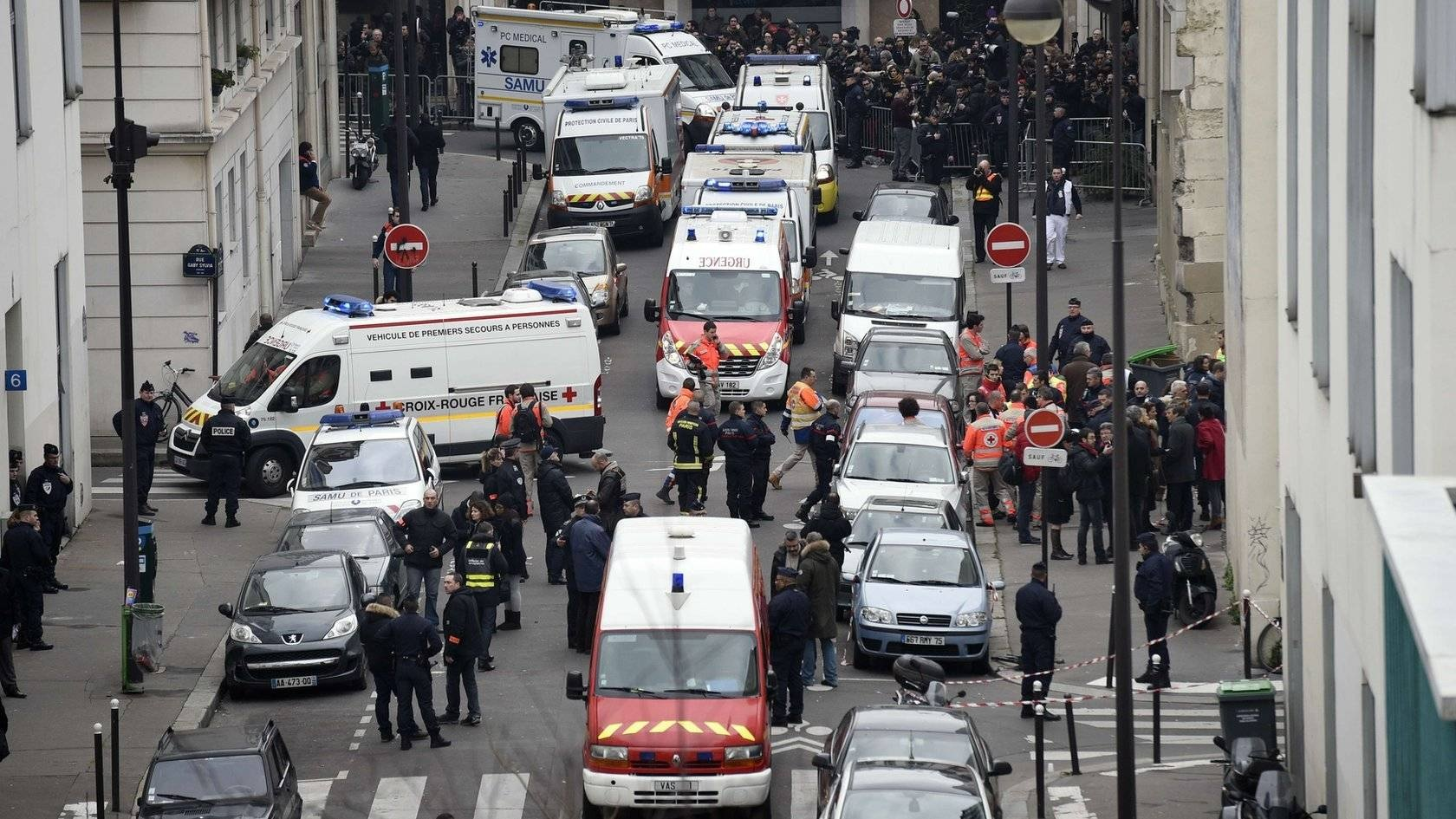 Islamic attack by three masked gunmen at the offices of the French satirical magazine Charlie Hebdo in Paris kills 12 people and injures 10.