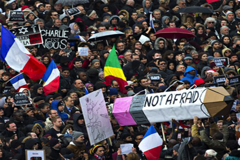 1.6m attended Paris solidarity march