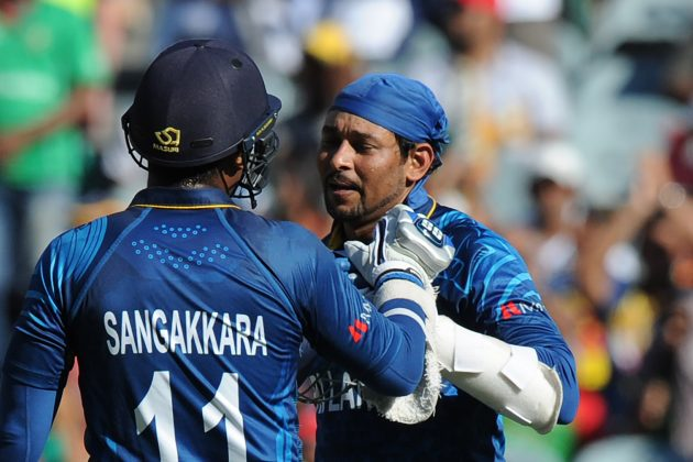 Dilshan and Sangakkara tons