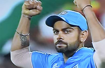 Virat Kohli 107 his 22nd ODI  century.