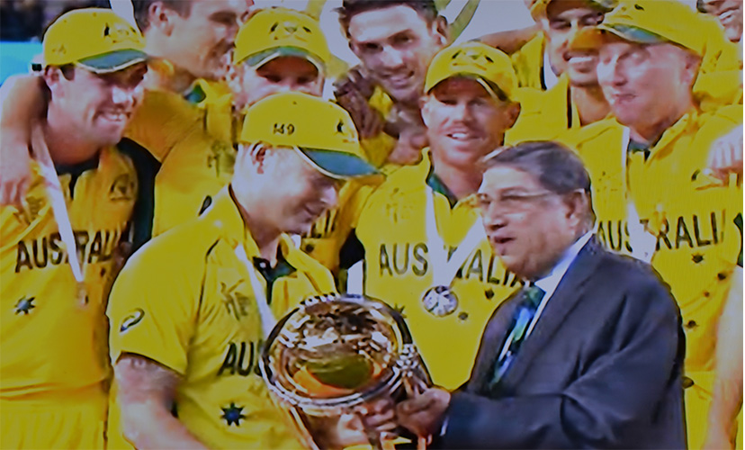 Australia wins ICC World Cup 2015