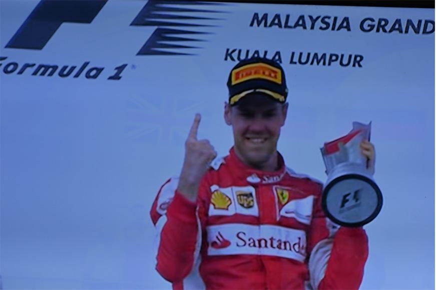Sabestian Vettel