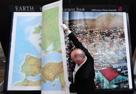 Earth Platinum World's largest book