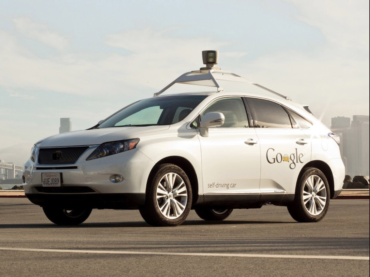 Google self-driving car crashes into a bus