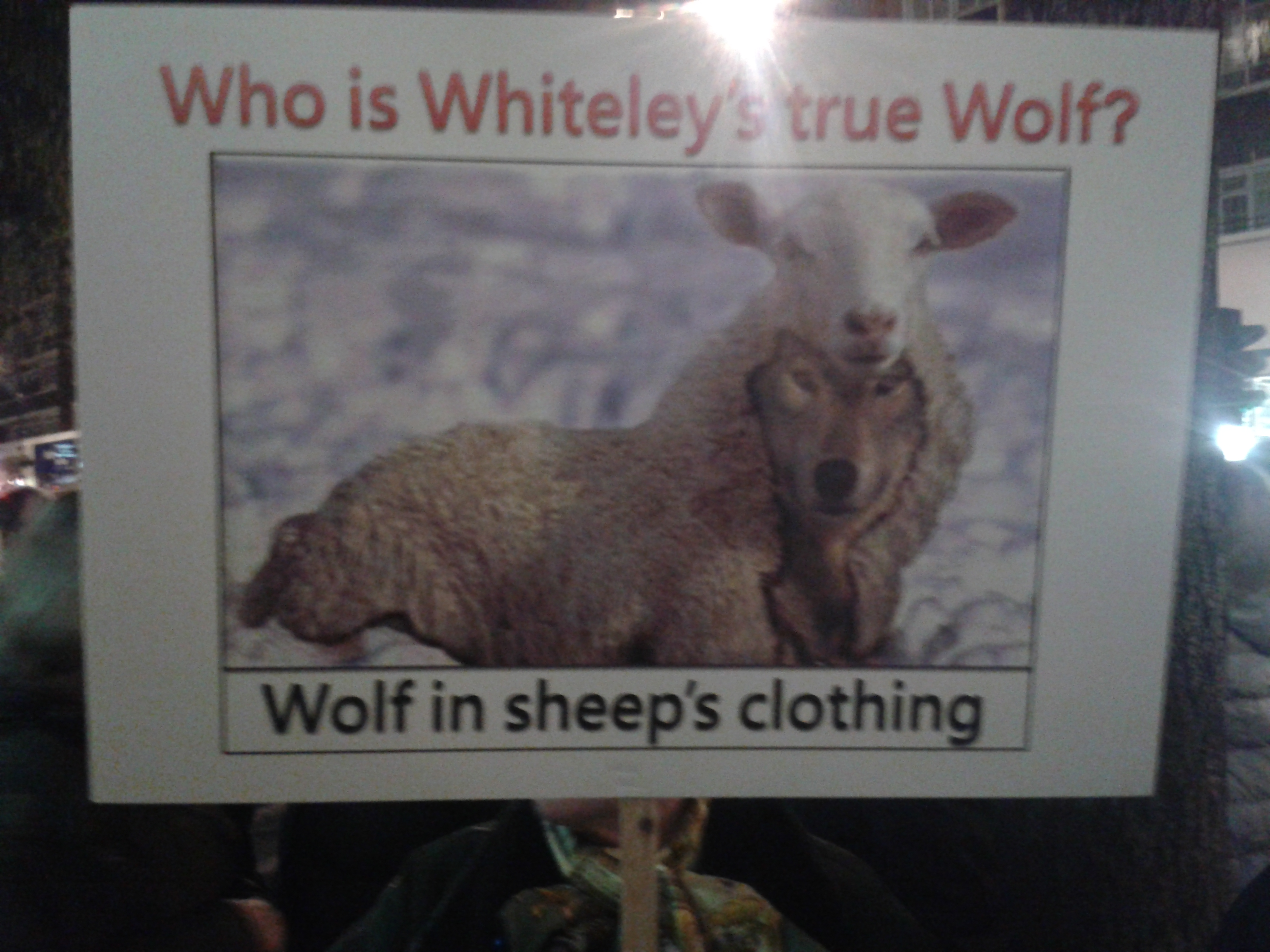 Whiteleys Protest 2
