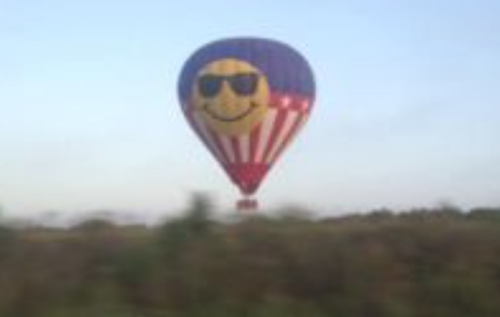 Erika Gonazales pictured the balloon 20 minutes before the crash pic Facebook