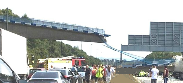 M20 bridge collapse