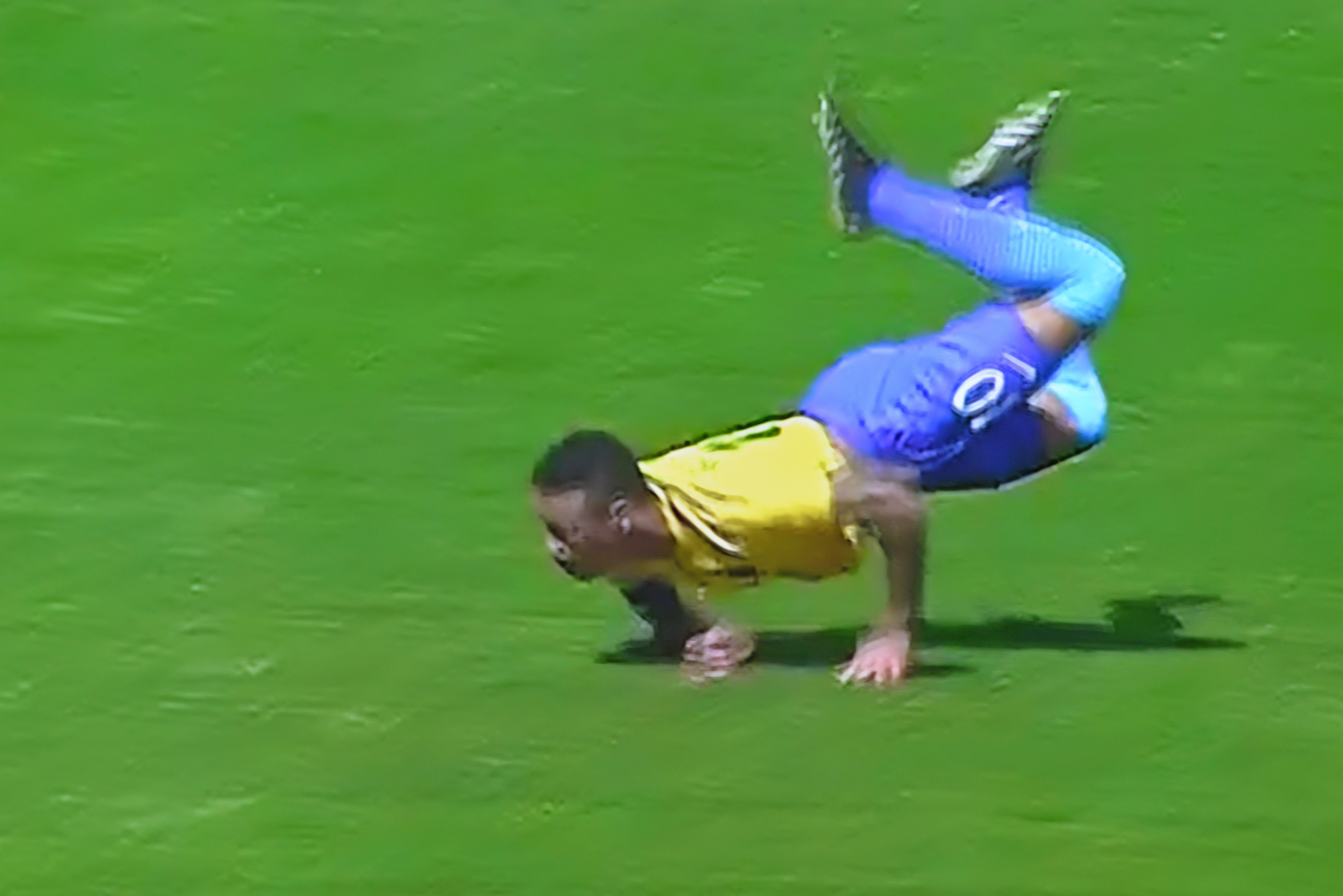 Neymar's first goal