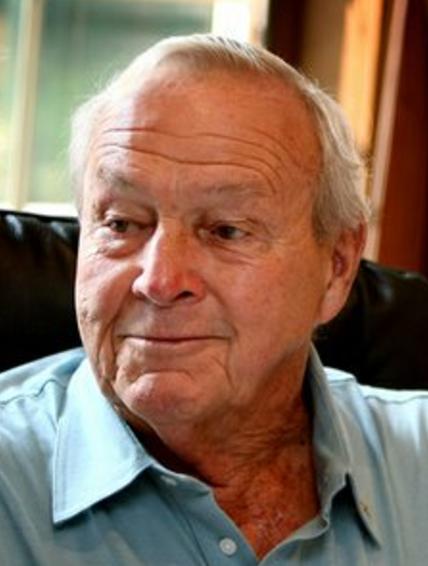 Golfing legend Arnold Palmer