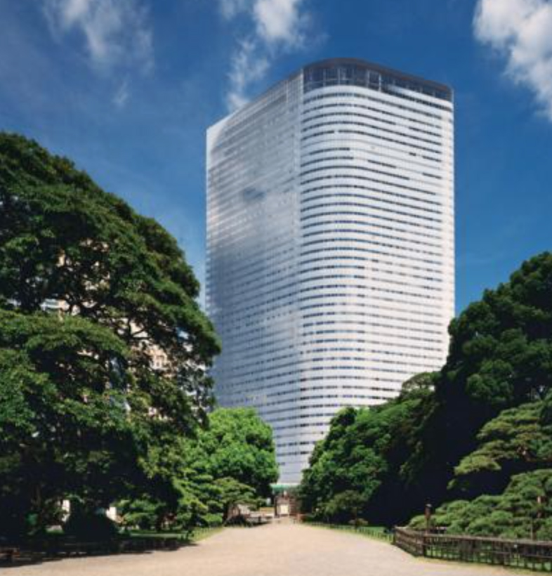 Dentsu headquarters in Japan