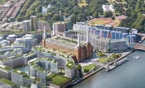 New Look Battersea  Power station after development.