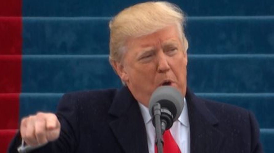 Donald Trump;s inaugural speech