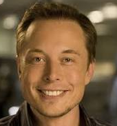 South African born Elon Musk CEO of SpaceX