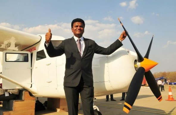 Yadav created aviation history