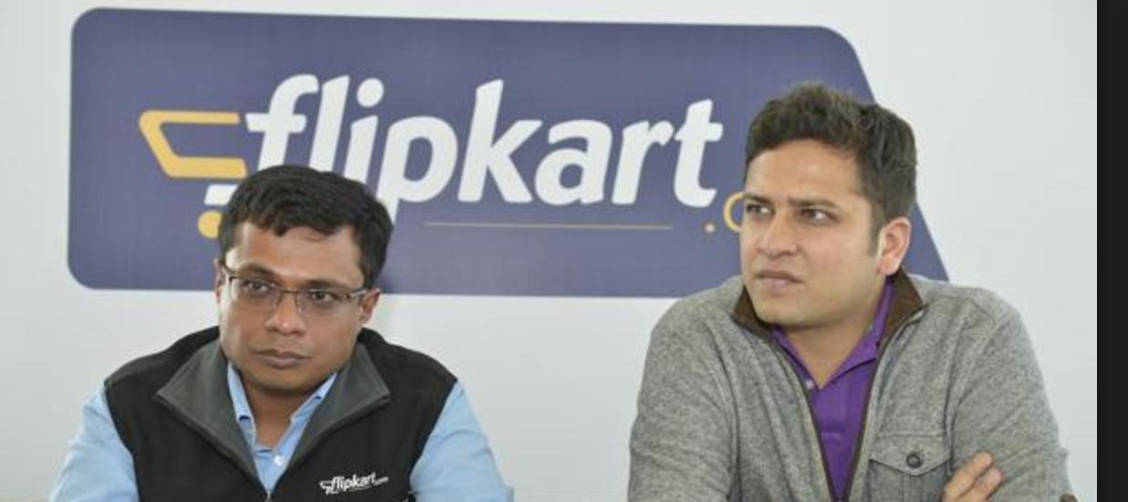 Flipkart founders Sachin and Binny Bansal