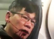 Passenger dragged thrown out of plane