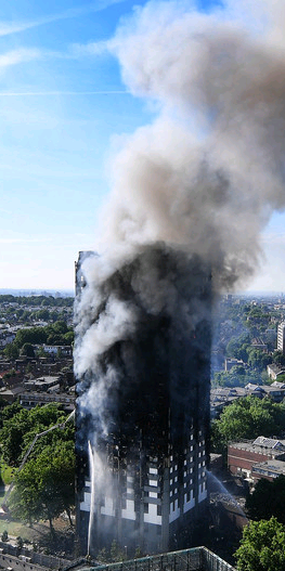 Reynobond combustible cladding at Grenfell
