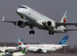 Air Canada flight mistakenly lined up to land on the taxiway with four other planes on it  at San Francisco International Airport.