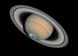 Aurora at Saturn. NASA send from Cassini