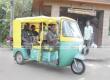 Fully electric e-auto rickshaw