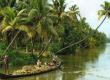 Picturse  backwaters of Kerala