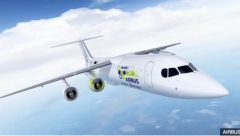 Airbus Hybrid electric plane