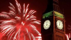 Big Ben welcomes New Year