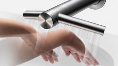 Dyson tap hand dryer