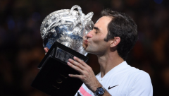 Roger Federer won the Australian Open Grand Slam