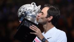 Roger Federer won the Australian Open Grand Slam