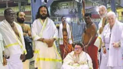 French nationals convert to Hinduism in order to enter the Guruvayur temple