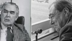 Jim Swanton and John Arlott