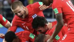 England win 4-3