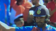 Rohit's unbeaten century