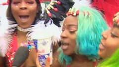 Notting Hill Carnival in full swing