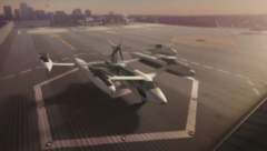 Uber Elevate, the ride-hailing platform's aerial taxi