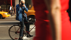 Bill Cunningham in action
