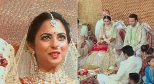 Isha Ambani weds Anana Piramal