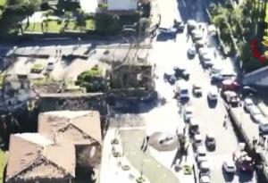 Earthquake rocking north of  City of Catania
