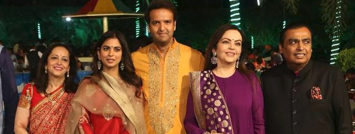The Amabni and Piramal family
