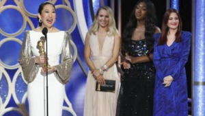 Sandra Oh won for performance in Killing Eve
