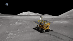 Chang'e-4 Lunar probe lands on the far side of the Moon