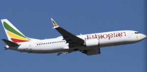 Ethiopian Airlines which crashed killed all 157 on board.