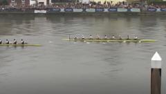 Cambridge crosses the winning post