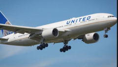 United Airline plane had to do an emergency landing