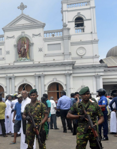 Three churches attacked