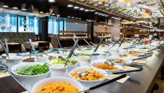 Haus Hiltl vegetarian buffet