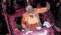 Victorious prime minister Narendra Modi