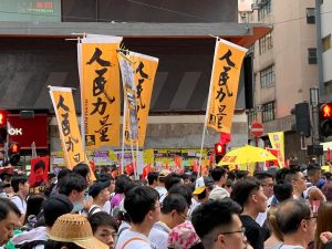 Hundreds of Thousands march on