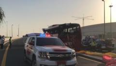Dubai bus crash kill 17